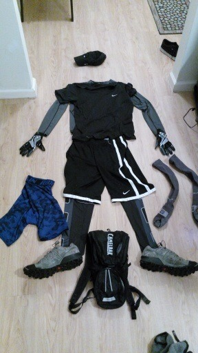 what to wear for a mud run