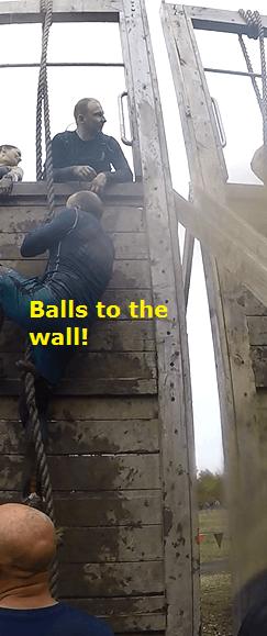 tough mudder balls to the wall