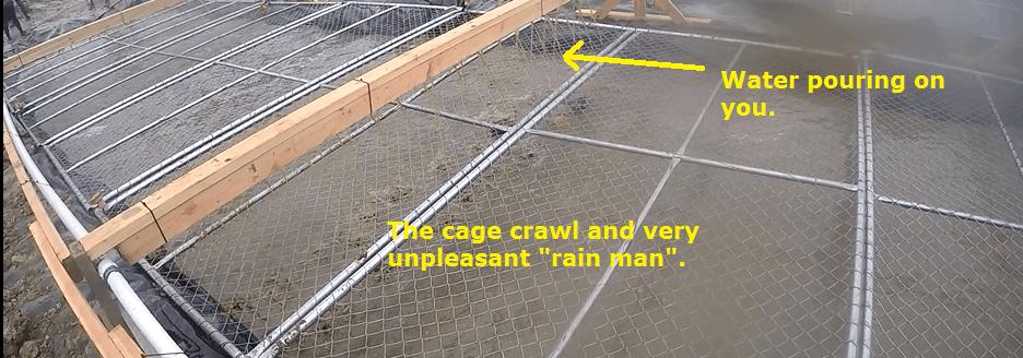 tough mudder cage crawl photo