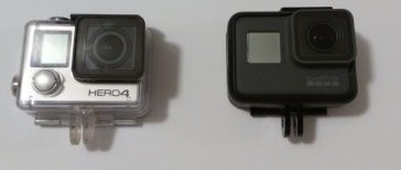 gopro hero 4 black vs hero 5 black