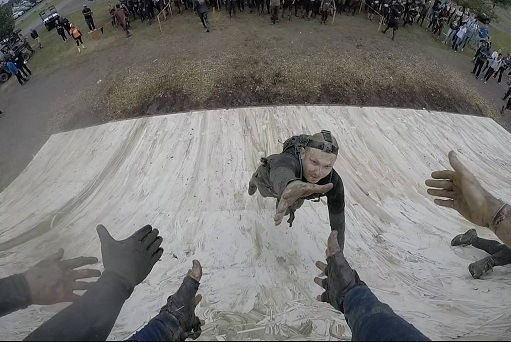 my tough mudder everest jump