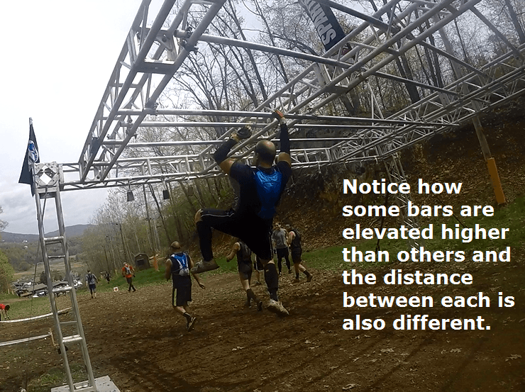 spartan race monkey bar obstacle
