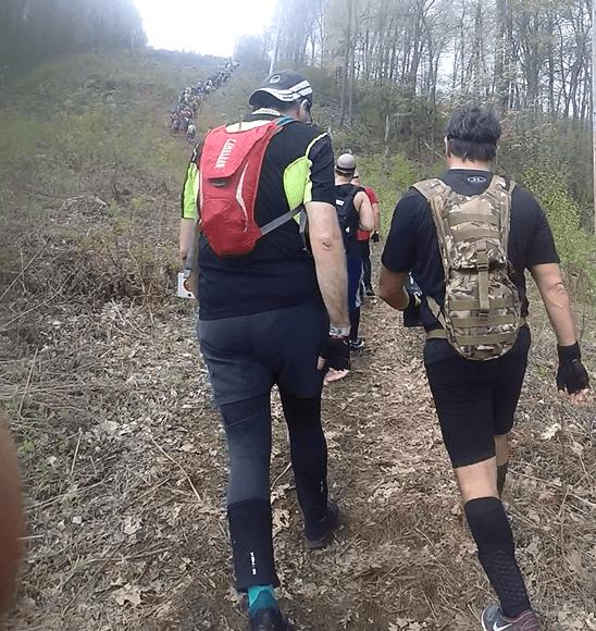 spartan race uphill climb