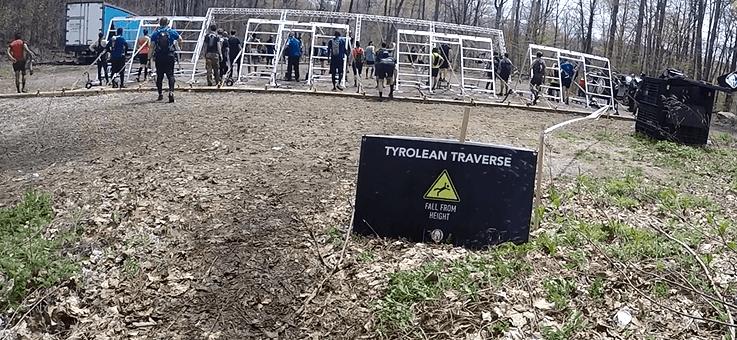 tyrolean traverse spartan race